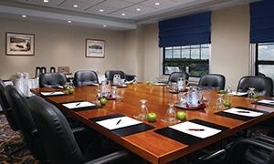 Crowne Plaza Lobby Board Room