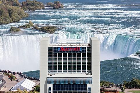 Marriott on the Falls Exterior